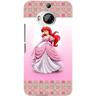 ifasho Princess Back Case Cover for HTC ONE M9 Plus