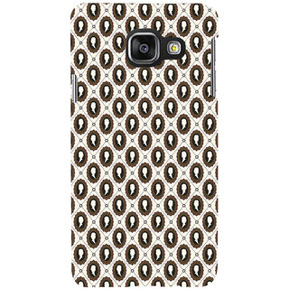 ifasho Animated  Royal design with Queen head pattern Back Case Cover for Samsung Galaxy A3 A310 (2016 Edition)