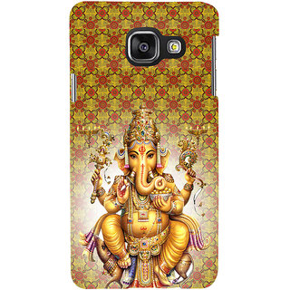 ifasho Lord Ganesha Back Case Cover for Samsung Galaxy A3 A310 (2016 Edition)