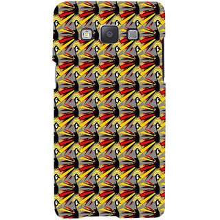 ifasho Animated Pattern peacock Back Case Cover for Samsung Galaxy A7