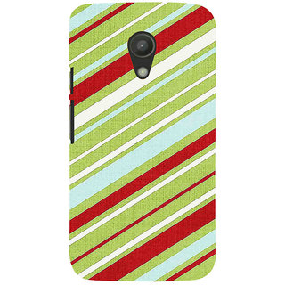 ifasho Design lines pattern Back Case Cover for Moto G2
