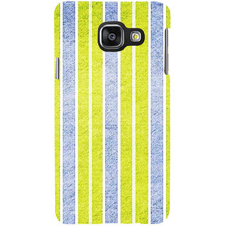 ifasho Design lines pattern Back Case Cover for Samsung Galaxy A3 A310 (2016 Edition)