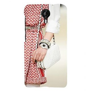 ifasho Designer dress pattern Back Case Cover for Micromax CanvasNitro3E455