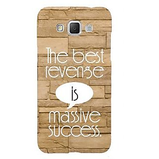 ifasho quotes on success Back Case Cover for Samsung Galaxy Grand Max
