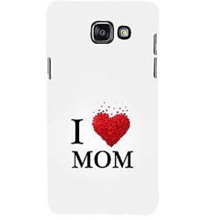 ifasho Love Quotes I love mom Back Case Cover for Samsung Galaxy A5 A510 (2016 Edition)