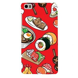 ifasho Animated food pattern Back Case Cover for Redmi Mi5