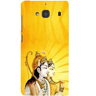 ifasho Lord Rama and sita Back Case Cover for Redmi 2S