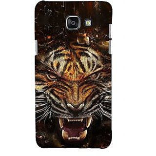 ifasho Roaring Tiger  Back Case Cover for Samsung Galaxy A7 A710 (2016 Edition)