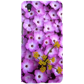 ifasho Pattern colorful flower Back Case Cover for One Plus X