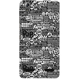 ifasho Motivatinal Quote Back Case Cover for Lenovo A6000 Plus