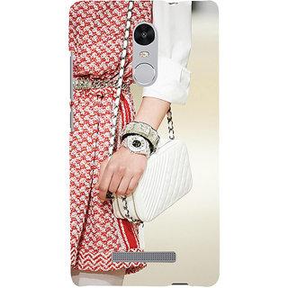 ifasho Designer dress pattern Back Case Cover for REDMI Note 3