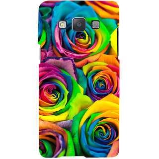 ifasho Animated Pattern colorful rose flower Back Case Cover for Samsung Galaxy A7