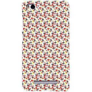 ifasho Animated Pattern colourful littel stars Back Case Cover for Redmi Mi4i