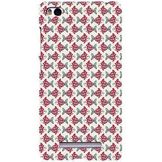 ifasho Modern Art Design Pattern Lot of fish Back Case Cover for Redmi Mi4i