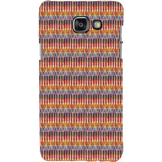 ifasho Animated Pattern of Chevron style pencils arrows Back Case Cover for Samsung Galaxy A7 A710 (2016 Edition)