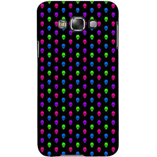 ifasho Modern  Design colourful skeleton Pattern Back Case Cover for Samsung Galaxy E7