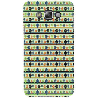 ifasho Animated Pattern colrful 3Dibal design with small 3Dees  Back Case Cover for Samsung Galaxy E7