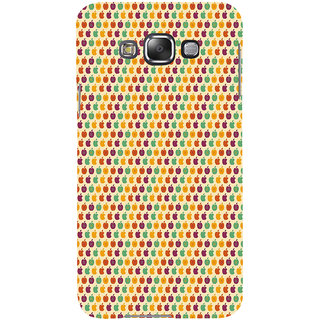 ifasho Animated Pattern design many small  Back Case Cover for  Galaxy E7