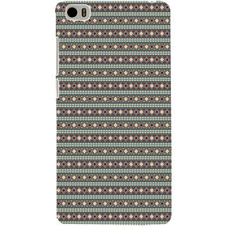 ifasho Animated Pattern colrful 3Dibal design rajasthani style Back Case Cover for Redmi Mi5