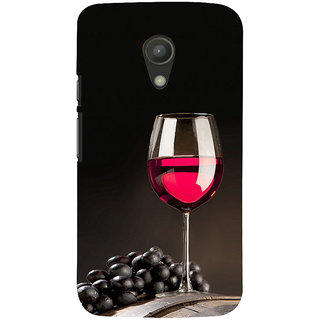 ifasho Wine at Dine Back Case Cover for Moto G2