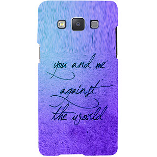 ifasho Love Quotes for love Back Case Cover for Samsung Galaxy A7