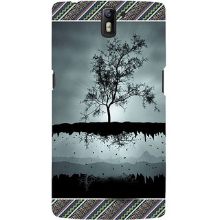 ifasho 3Dee on air animated beautiful Back Case Cover for One Plus One