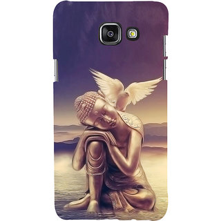 ifasho Lord Budha Back Case Cover for Samsung Galaxy A7 A710 (2016 Edition)