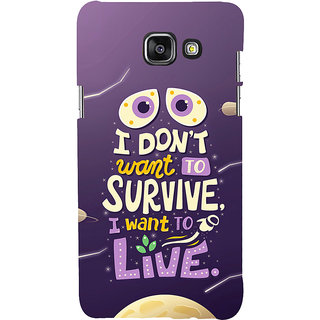 ifasho life Quotes Back Case Cover for Samsung Galaxy A5 A510 (2016 Edition)
