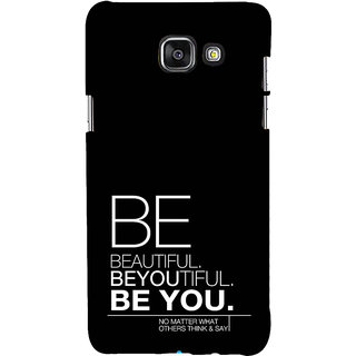 ifasho beautiful qoutes Back Case Cover for Samsung Galaxy A5 A510 (2016 Edition)