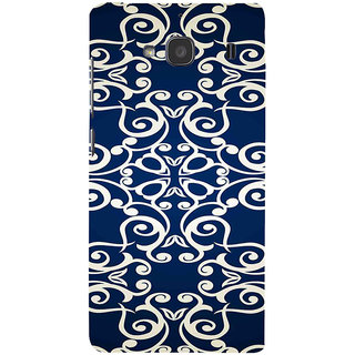 ifasho Animated Pattern design colorful flower in royal style Back Case Cover for Redmi 2S
