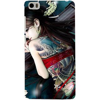 ifasho tatoo girl Back Case Cover for Redmi Mi5