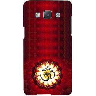 ifasho Modern Art Om design pattern Back Case Cover for Samsung Galaxy A7