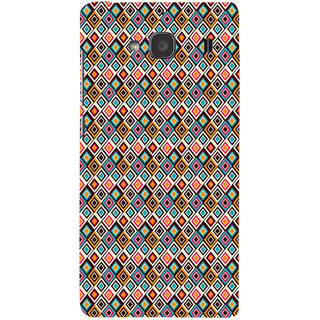 ifasho Animated Pattern colrful rajasthani design Back Case Cover for Redmi 2S