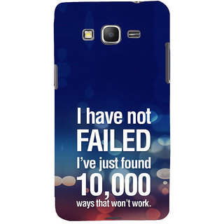ifasho quotes on success Back Case Cover for Samsung Galaxy Grand Prime