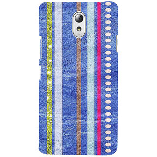 ifasho Animated Pattern colrful 3Dibal design Back Case Cover for Lenovo Vibe P1M