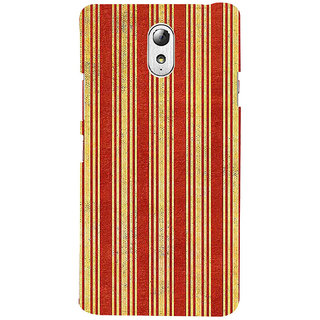 ifasho Design lines pattern Back Case Cover for Lenovo Vibe P1M