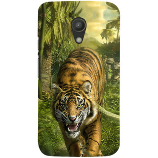 ifasho Angry Tiger  Back Case Cover for Moto G2