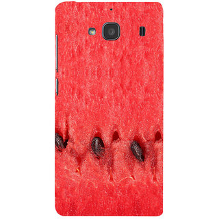 ifasho water melon full Colour Pattern Back Case Cover for Redmi 2S