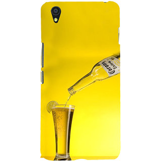 ifasho Beer Back Case Cover for One Plus X