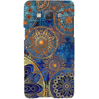 ifasho modern design in multi color aztec pattern Back Case Cover for Samsung Galaxy A7