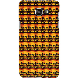 ifasho Modern Design animated Pattern small 3Dees in lines Back Case Cover for Samsung Galaxy A7 A710 (2016 Edition)