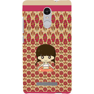 ifasho Cute Girl animated Back Case Cover for REDMI Note 3