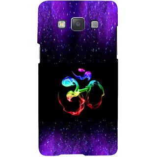 ifasho Om animated design Back Case Cover for Samsung Galaxy A7