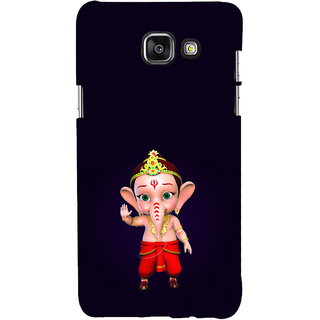 ifasho Modern Art Ganesh Back Case Cover for Samsung Galaxy A7 A710 (2016 Edition)
