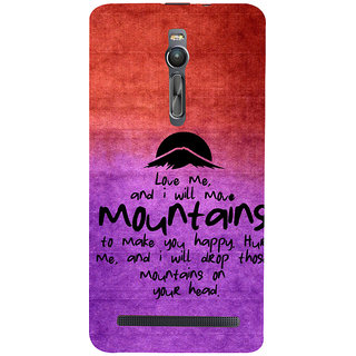 ifasho Love Quotes for love Back Case Cover for Asus Zenfone2