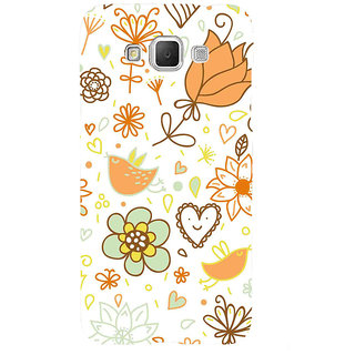 ifasho Animated Pattern colrful design cartoon flower with leaves Back Case Cover for Samsung Galaxy Grand Max