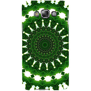 ifasho Animated Pattern design colorful flower in royal style Back Case Cover for Samsung Galaxy E7