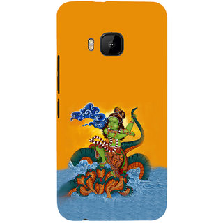 ifasho krishna Dancing on kalia serpant Back Case Cover for HTC One M9