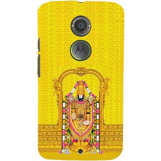 ifasho Tirupati Balaji Back Case Cover for Motorola MOTO X2