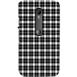 ifasho Modern Art Design animated cloth Pattern of small star Back Case Cover for Moto G3